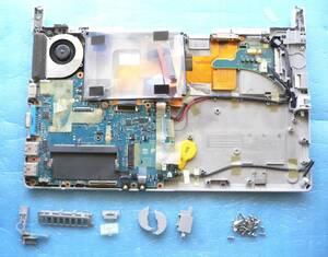 ジャンク Panasonic CF-SX3 マザーボード 【Win起動OKですが、BIOSにパスワードあります】★動作は簡易確認しました。