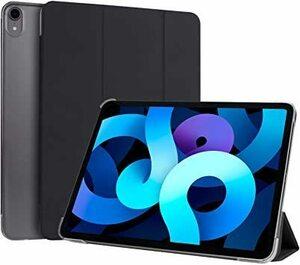即決!新品♪ ブラック NIMASO iPad Air4 ケース/iPad Pro 11 2018 第1世代 ケース 背面半透明