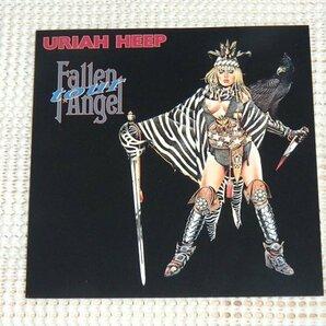 Uriah Heep ユーライア ヒープ Fallen Angel Tour /Ken Hensley ( gods ) John Lawton ( asterix ) Trevor Bolder ( Spiders From Mars )等
