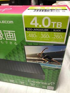 外付けハードディスク 4.0TB SGD-JMX040UBK