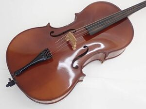 WILHELM EBERLE Cello 4/4 ヴィルヘルム・エベレー 弓チェロ ドイツ製 ソフトケース・弓付 ∽ 62A90-1