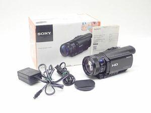 SONY ソニー デジタルHDビデオカメラレコーダー HDR-CX900 2014年製 元箱/説明書付き ¶ 62C6C-2