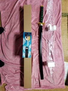 鬼滅の刃 時透無一郎7(ときとむいちろう)日輪刀 未使用品 箱付き 観賞用 木製模造刀 刀サイズ98センチ刃の長さ667ミリです。