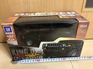 HUMMER H2 ハマー ラジコンカー 黒 ブラック