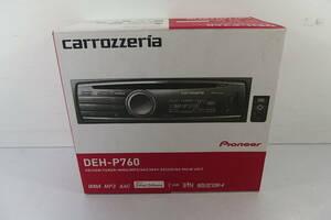 ◆新品同様 carrozzeria(カロッツェリア) メインユニット DEH-P760 CD/USB/iPod/チューナー・WMA/MP3/AAC/WAV対応 マルチCDプレーヤー