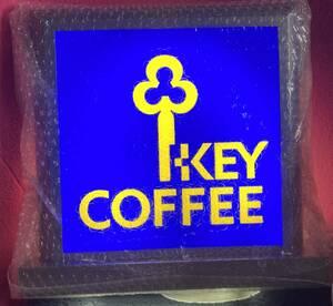 GIGAレア!!昭和レトロ大正ロマン♪キーコーヒー KEE COFFEE「電飾看板」つい先日閉店した純喫茶より譲り受けた現役モノ 珈琲 カフェ 喫茶店