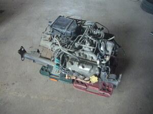 ★ サンバーTT2外し エンジン&MTミッション インジェクター1本タイプ 中古 引き取り限定 ★