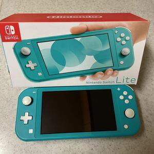 Nintendo Switch Lite 本体 ターコイズ ジャンク品