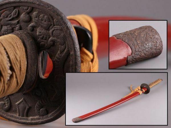 古美術 時代武具 拵え 外装 時代物 極上品 初だし品 135