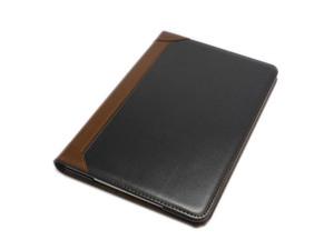 iPad Mini 5/Mini 4 兼用 手帳型 フリップ 合皮 合成皮革 フェイクレザー スタンド アイパッド ミニ 4/5 ケース カバー ブラック