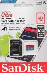 新品未使用 Sandisk Microsd 256GB SDXC