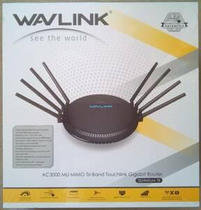 【新品未開封】WAVLINK 無線LANルーター AC3000 MU-MIMO ワイヤレストライバンドギガビットルーター