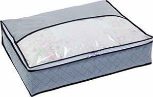 グレー 薄型コンパクト アストロ 羽毛布団 収納袋 シングル用 グレー 不織布 活性炭消臭 コンパクト 171-41