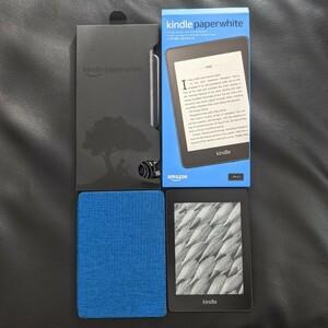 Kindle Paperwhite 第10世代 広告なし 純正カバー付き