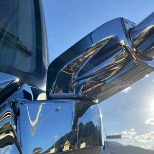 saec 17 Profia plating mirror steak .p cover driver`s seat passenger's seat set root origin part