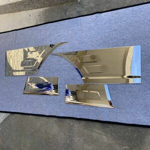 FUSO Canter generation Canter Blue TEC Canter plating fender cover left right 4 point set