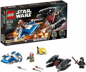 レゴ LEGO スター・ウォーズ A-ウィング vs.TIE サイレンサー マイクロファイター 75196 国内正規品