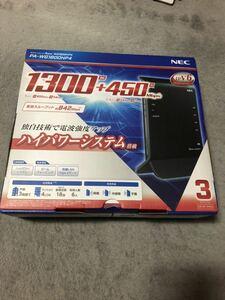 送料無料 新品未開封正規品 NEC Aterm WG1800HP4 11ac/n/a/g/b 1300+450Mbps 無線LANルーター PA-WG1800HP4 PAWG1800HP4