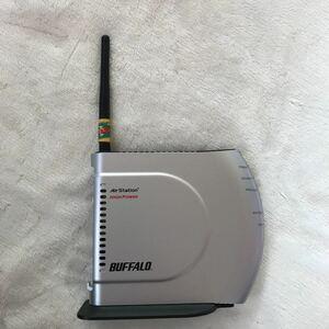 BUFFALO Wi-Fiルーター ジャンク? 外装箱なし BUFFALO WHR-HP-G/P