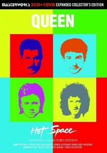 QUEEN / HOT SPACE =EXPANDED COLLECTORS EDITION= [2CD+1DVD] MASTERWORKS