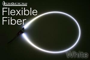 Flex ファイバー 3mm×2m LED付属(白)イカリング自作に(送料込)