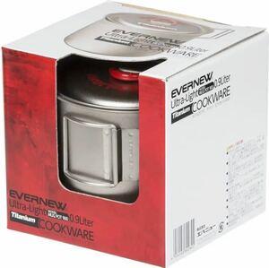 新品未使用品 EVERNEW エバニュー チタン マグポット900 RED