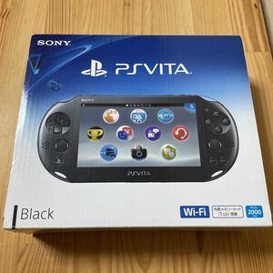 005【送料無料・FW3.65美品】 PS Vita 本体一式 Wi-Fiモデル PCH-2000 ZA11 ブラック