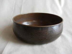 茶道具 平建水 茶こぼし 銅製