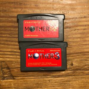 MOTHER GBA MOTHER1+2 MOTHER3 ゲームボーイアドバンス マザー1 2 3
