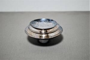 銀杯 銀盃 純銀  3個セット 合計約205g/検索 酒器 SILVER シルバー【10058】