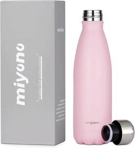 水筒 直飲み 軽量 ポータブル 魔法瓶 ステンレスボトル 保温 保冷 500ml