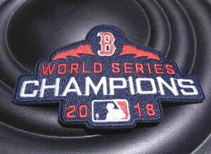 紺赤2018■新品ワールドシリーズレッドソックスMLBメジャーリーグ野球ワッペン
