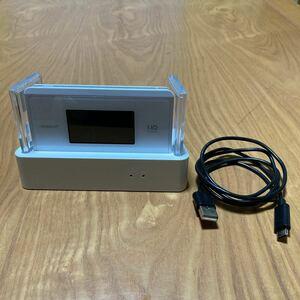 WiMAX2+ WX06 クレードル セット モバイルルーター クレードル Wi-Fi