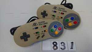 任天堂 Nintendo ニンテンドー スーパーファミコン SFC 連射 コントローラー ハドソン HUDSON ジョイカード HC-691 2個 セット 中古