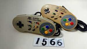 任天堂 Nintendo Nintendo スーパーファミコン SFC 連射 コントローラー ハドソン スーパージョイカード HC-691 2個 セット 中古
