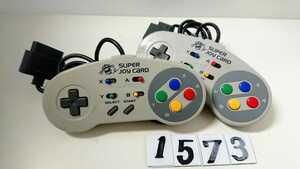 任天堂 ニンテンドー Nintendo スーパーファミコン SFC 連射 コントローラー ハドソン HUDSON スーパージョイカード HC-691 2個 中古