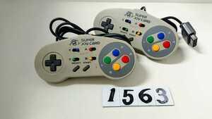 任天堂 Nintendo ニンテンドー スーパー ファミコン SFC 連射 コントローラー ハドソン HUDSON スーパージョイカード HC-691 2個 中古