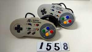任天堂 Nintendo ニンテンドー SFC スーパー ファミコン 連射 コントローラー ハドソン HUDSON スーパージョイカード HC-691 2個 中古