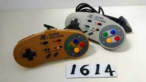 任天堂 ニンテンドー Nintendo スーパーファミコン SFC 連射 コントローラー ハドソン HUDSON スーパー ジョイカード HC-691 2個 中古