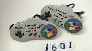 任天堂 Nintendo ニンテンドー SFC スーファミ スーパーファミコン ゲーム 連射 コントローラー ASCII アスキーパッド AS-131-SP 2個 中古