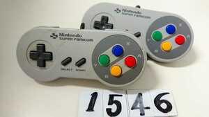 任天堂 Nintendo ニンテンドー スーパーファミコン クラシック ミニ ゲーム コントローラー CLV-202 2個 セット アクセサリー 中古