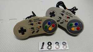 任天堂 Nintendo Nintendo スーパーファミコン SFC 連射 コントローラー ハドソン HUDSON スーパージョイカード HC-691 2個 セット 中古