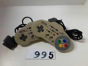 ニンテンドー Nintendo 任天堂 スーパーファミコン SFC ASCII アスキーパッド AS-131-SP 2個 セット アクセサリー 周辺機器 中古
