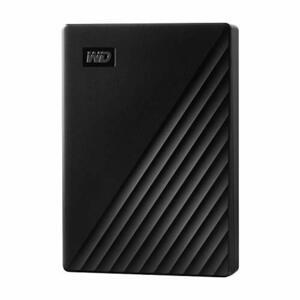 WESTERNDIGITAL 4TB WD ポータブルHDD USB3.0 ブラック My Passport 暗号化