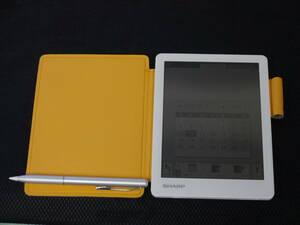 SHARP 電子ノート WG-S20 6インチ 手書きメモ+スケジュール機能付 動作確認済