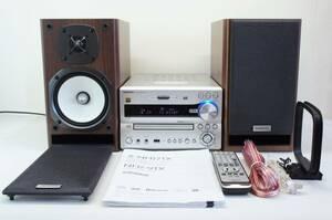 ONKYO X-NFR7TX ハイレゾ対応 CD/SD/USB レシーバーシステム