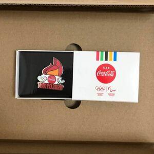 コカコーラ 東京2020 オリンピック ピンバッジ 聖火 非売品