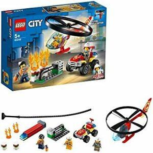 レゴ(LEGO) シティ 消防ヘリコプター フライングヘリコプター 60248 ブロック おもちゃ 男の子