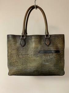 ベルルッティ Tou Jours BERLUTI トートバッグ バック 鞄 100%正規品 旧パティーヌカード付属 絶頂期ヴェネチアレザー
