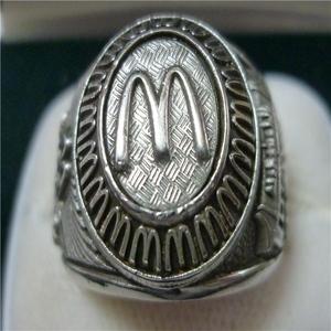 マクドナルド (McDonalds) ビンテージ 70~80s クルーリング(指輪)レア!実寸18.5号(US9) 指輪ケース付き 送料無料!